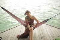 Foto di hammock , bisa nih inspirasi foto liburan nanti. (marshanda99/Instagram)