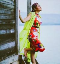 Artis cantik Marshanda memilih Pulo Cinta di Gorontalo sebagai destinasi liburan terbarunya. (marshanda99/Instagram)