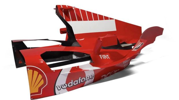 Cover Mesin F1 Michael Sumacher Diperkirakan Tembus Seharga Nmax