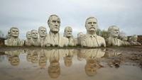 Patung Raksasa di AS, Dulu Terbengkalai Kini Jadi Objek Wisata