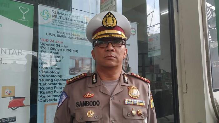 Dirlantas Polda Metro Jaya Kombes Sambodo Purnomo Condro