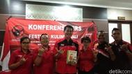 Festival Kuliner di HUT PDIP Akan Suguhkan Arak Bali