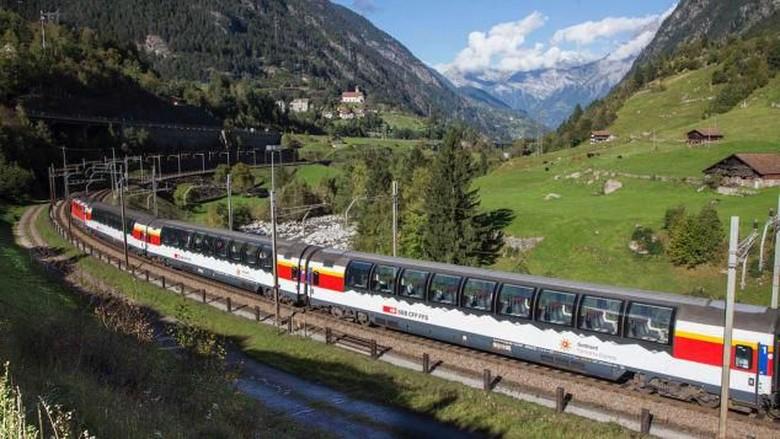 Gotthard Base Tunnel Swiss