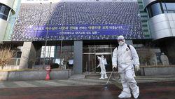 Menyebar Cepat, Sehari Ada 571 Kasus Baru Corona di Korea Selatan!