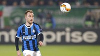 Ludogorets Vs Inter: Video Gol Pertama Eriksen buat Nerazzurri