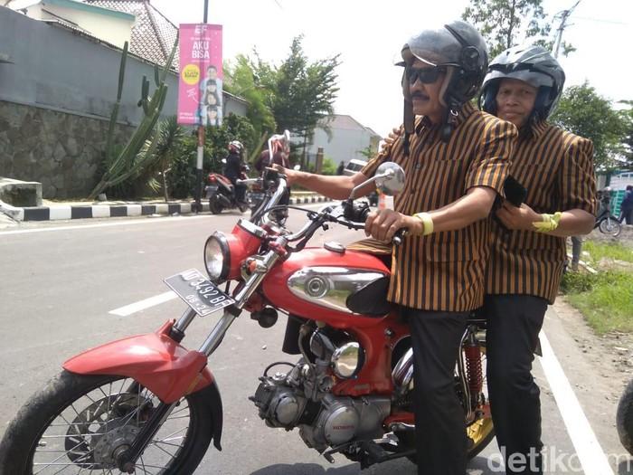Pasangan Bagyo Wahyono-FX Supardjo maju pilkada Solo lewat jalur independen, Jumat (21/2/2020)