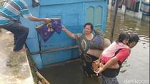 Banjir di Kota Pekalongan Mulai Surut, Warga Sibuk Bersih-bersih