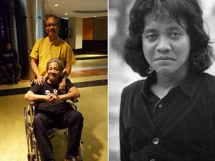 Naniel Yakin, pencipta lagu Bento (duduk di kursi roda) / Tangkapan layar FB Butet Karteradjasa