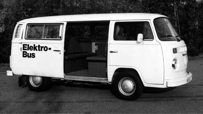 Mobil listrik Volkswagen tahun 1970-an