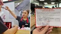 Cegah Virus Corona, Karyawan Gerai Bubble Tea Ini Rutin Cek Suhu Tubuh