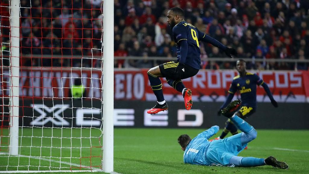 Olympiakos Vs Arsenal: Gol Tunggal Lacazette Menangkan The Gunners