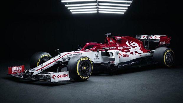 Tampilan mobil andalan tim F1 2020