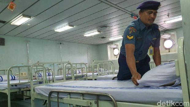 Ruang isolasi mampu menampung 40 pasien.