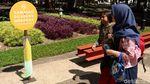 Asyik! Taman Balai Kota Bandung Kini Bebas Asap Rokok