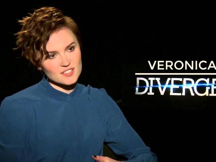 Penulis Divergent Veronica Roth