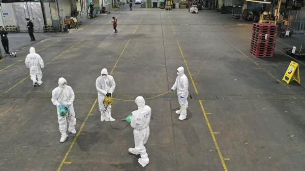 Menurut pantauan dari situs Coronavirus COVID-19 Global Cases by Johns Hopkins CSSE, hingga saat ini terdeteksi ada 156 orang yang terinfeksi virus Corona di Korea Selatan (Kim Hyun-tae/Yonhap via AP)