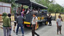 Hadang Pekerja Huntap di Palu Pakai Parang, 12 Warga Talise Ditangkap