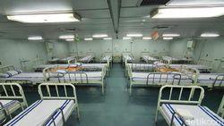 Penampakan Ruang Isolasi KRI Dr Soeharso, Disiapkan untuk Evakuasi 74 ABK