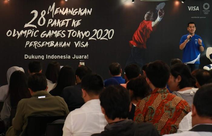 Citi Indonesia bekerja sama dengan Visa, akan menerbangkan 14 nasabah beserta masing-masing satu pendamping mereka (total 28 orang) guna menghadiri dan merasakan secara langsung euforia Olimpiade Tokyo 2020.
