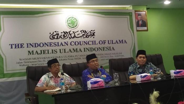 Konferensi pers MUI soal Kongres Umat Islam Indonesia ke-7