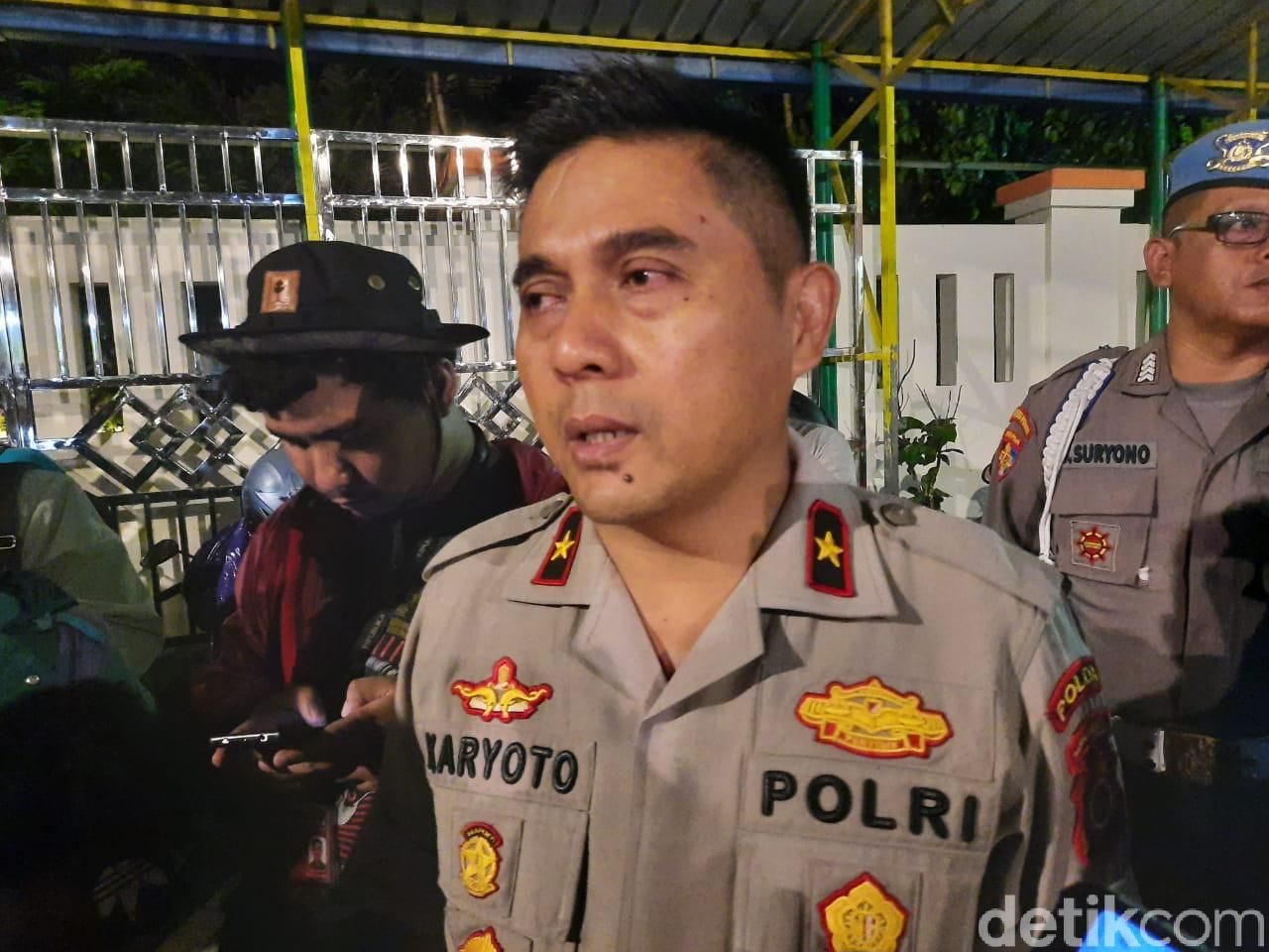 Wakapolda DIY Brigjen Karyoto di TKP Susur Sungai Sempor, Sleman, Jumat (22/2/2020)