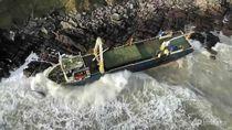 Nyaris 2 Tahun Hilang, Kapal Hantu Ini Muncul Lagi