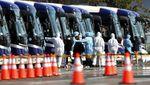 Penumpang Tersisa di Kapal Pesiar Jepang Dipindahkan ke Fasilitas Khusus