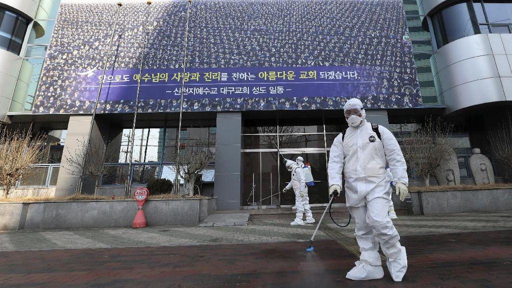Terus Bertambah, Sudah 204 Orang Positif Virus Corona di Korea Selatan