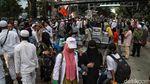 Massa Aksi 212 Mulai Membubarkan Diri