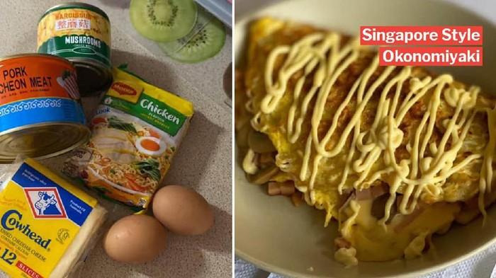Okonomiyaki mie instan Singapura