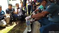 Lantamal VIII Manado Musnahkan 2.700 Liter Cap Tikus Seharga Rp 800 Juta