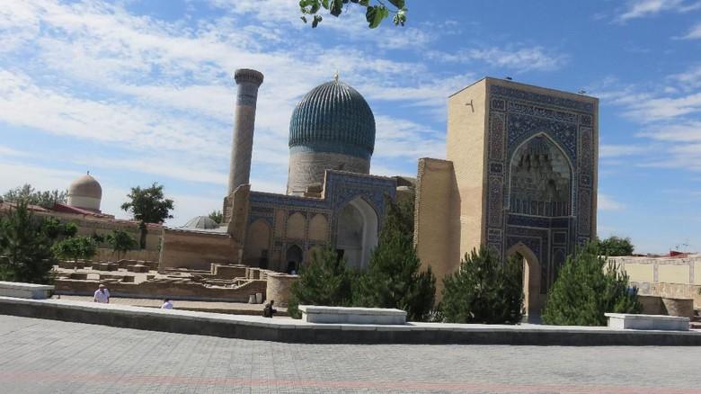 Salah satu sudut Kota Bukhara di Uzbekistan
