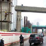 Musim Hujan, Proyek LRT Jabodebek Terganggu