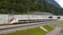 Potret Terowongan Kereta Terpanjang Sedunia di Bawah Alpen