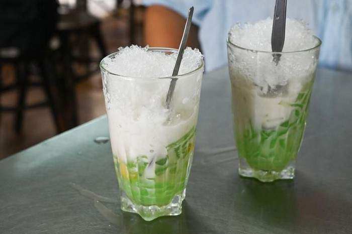 Ice cendol is Indonesian traditional beverage.