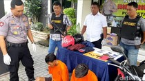 Spesialis Curanmor Minimarket di Surabaya Dihadiahi Timah Panas, 2 Masih Buron