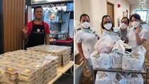 Virus Corona Merebak, Penjual Ini Bagikan Chicken Rice untuk Petugas Kesehatan