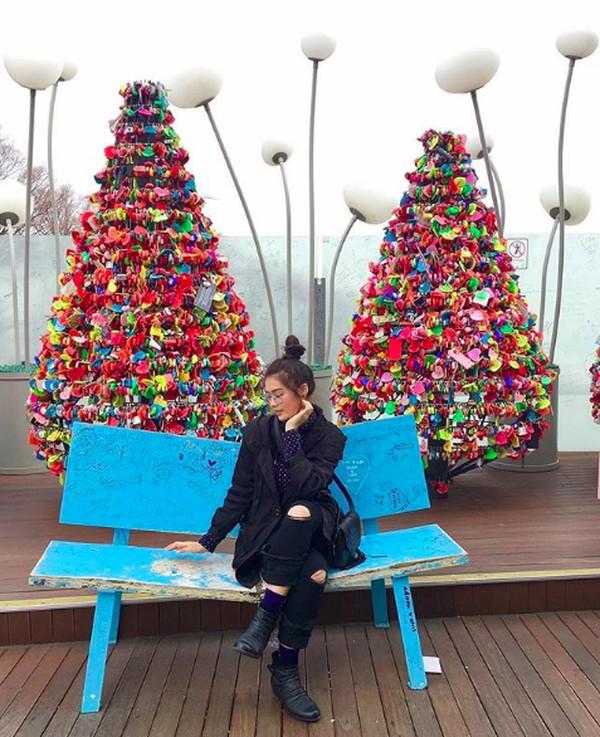 Di Korea Selatan Carla juga ke Namsan & N Seoul Tower (carlayules/Instagram)