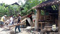 Tanah Gerak Rusak Permukiman, Warga di Banjarnegara Mengungsi