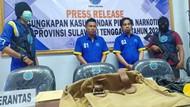 BNNP Sultra Tangkap 2 Kurir Lintas Provinsi, Sabu 1.008 Gram Disita