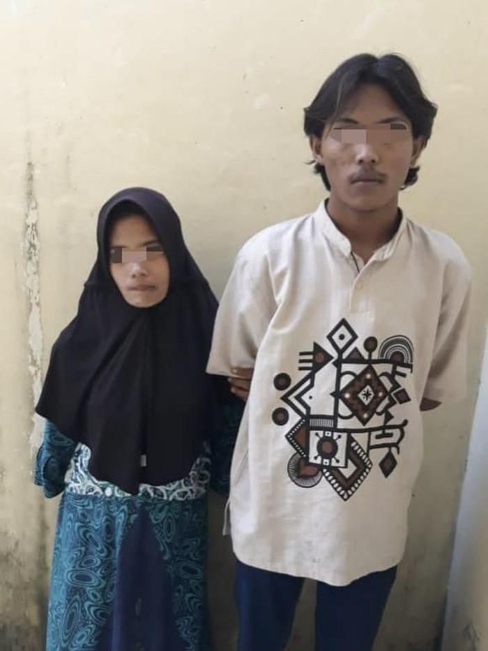 Pasutri muda di Riau tega bunuh nenek berusia 78 tahun karena ditagih utang (dok. Istimewa)