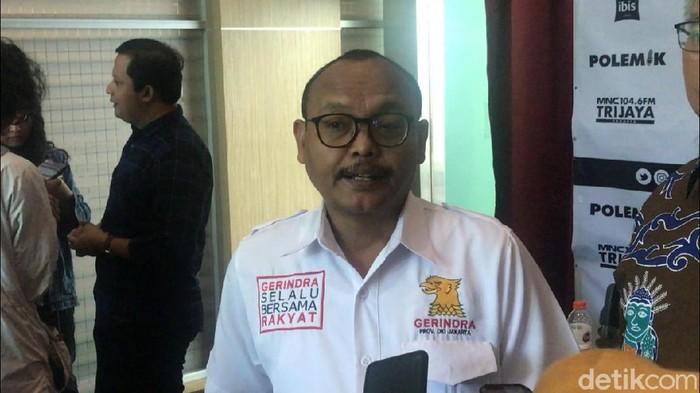 Wakil Ketua DPD Gerindra DKI Syarif
