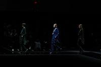 Fashion show Emporio Armani di Milan Fashion Week Fall 2020.
