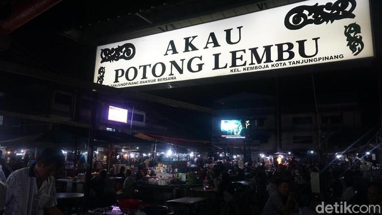 Wisata kuliner malam di Tanjungpinang