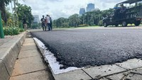 Sirkuit Formula E Jakarta: Bongkar-Pasang Aspal di Monas Berhasil