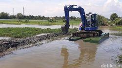 Banjir Tak Surut Selama Sebulan di Sidoarjo, Ini Upaya Mengatasinya
