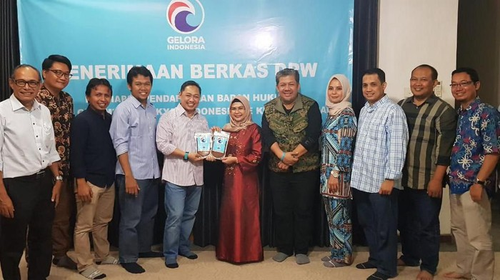 Partai Gelora Indonesia mendukung Nur Azizah dalam Pilwalkot Tangerang Selatan 2020