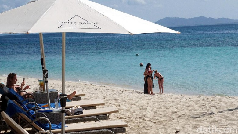 Pulau beralas pasir di Tanjungpinang