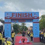 Palembang Triathlon 2020: Jauhari Johan Juara di Kampung Halaman