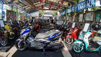 Modifikasi Idaman Motor Maxi Yamaha dan XSR 155